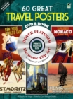60 Great Travel Posters Platinum DVD and Book - Book