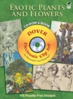 Exotic Plants and Flowers CD-ROM and Book - Book