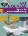 Art Nouveau Clip Art for Machine Embroidery - Book