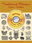 Traditional Designs from India CD-Rom and Book - Book
