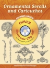 Ornamental Scrolls and Cartouches - Book