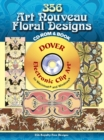 346 Art Nouveau Floral Designs CD-ROM and Book - Book