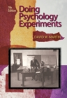 Doing Psychology Experiments - Book