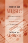 Essays on Music - Book
