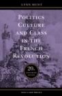 Politics, Culture, and Class in the French Revolution - Book