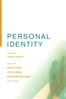 Personal Identity, Second Edition - Book