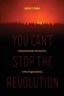 You Can't Stop the Revolution : Community Disorder and Social Ties in Post-Ferguson America - Book