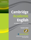 Cambridge Academic English B1+ Intermediate Teacher's Book : An Integrated Skills Course for EAP - Book