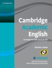 Cambridge Academic English C1 Advanced Teacher's Book : An Integrated Skills Course for EAP - Book