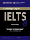 IELTS Practice Tests : Cambridge IELTS 8 Student's Book with Answers: Official Examination Papers from University of Cambridge ESOL Examinations - Book