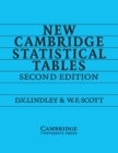 New Cambridge Statistical Tables - Book