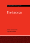 Cambridge Textbooks in Linguistics : The Lexicon - Book