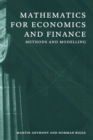 Mathematics for Economics and Finance : Methods and Modelling - Book