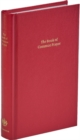Book of Common Prayer, Standard Edition, Red, CP220 Red Imitation leather Hardback 601B - Book