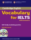 Cambridge Vocabulary for IELTS Book with Answers and Audio CD - Book
