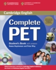 Complete PET Student's Book Pack (Student's Book with answers with CD-ROM and Audio CDs (2)) - Book