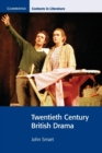 Twentieth Century British Drama - Book