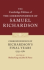 Correspondence of Richardson's Final Years (1755-1761) - Book