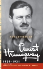 The Letters of Ernest Hemingway  : Volume 4, 1929-1931 - Book