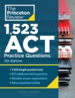 1,523 ACT Practice Questions : Extra Drills and Prep for an Excellent Score - Book