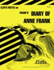 CliffsNotes on Frank's The Diary of Anne Frank - eBook