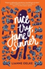 Nice Try, Jane Sinner - Book