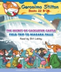 The Secret of Cacklefur Castle / Field Trip to Niagra Falls (Geronimo Stilton Audio Bindup #22 & 24) - Book