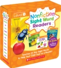 Nonfiction Sight Word Readers Parent Pack Level D : Teaches 25 key Sight Words to Help Your Child Soar as a Reader! - Book