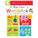 Kindergarten Wipe-Clean Workbook: Scholastic Early Learners (Wipe-Clean Workbook) - Book