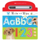 Write and Wipe ABC 123 (Scholastic Early Learners) - Book