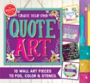 Create Your Own Quote Art - Book