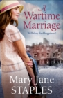 A Wartime Marriage - Book