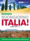 BUONGIORNO ITALIA! Audio CD's (NEW EDITION) - Book