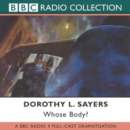 Whose Body? - Book