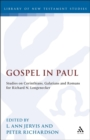 Gospel in Paul : Studies on Corinthians, Galatians and Romans for Richard N. Longenecker - eBook
