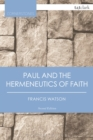 Paul and the Hermeneutics of Faith - eBook