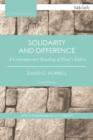 Solidarity and Difference : A Contemporary Reading of Paul's Ethics - eBook
