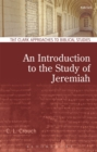 An Introduction to the Study of Jeremiah - Book