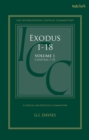 Exodus 1-18: A Critical and Exegetical Commentary : Volume 1: Chapters 1-10 - Book