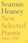 New Selected Poems 1966-1987 - Book