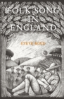 Folk Song in England - Book