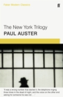 The New York Trilogy : Faber Modern Classics - Book