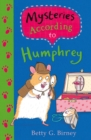 Mysteries According to Humphrey - Book
