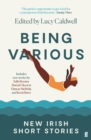 Being Various : New Irish Short Stories - Book