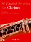 80 Graded Studies for Clarinet Book One - Book