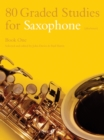 80 Graded Studies for Saxophone Book One - Book