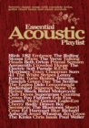Essential Acoustic Playlist - Book