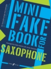 Mini Fake Book For Saxophone - Book