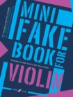 Mini Fake Book for Violin - Book