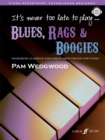 It's never too late to play blues, rags & boogies - Book
